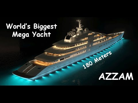 AZZAM Mega Yacht, Biggest Private Yacht In The World