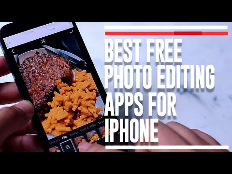 Best Free Photo Editing Apps IPhone 2021