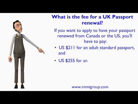 What Is The Fee For Uk Port Renewal