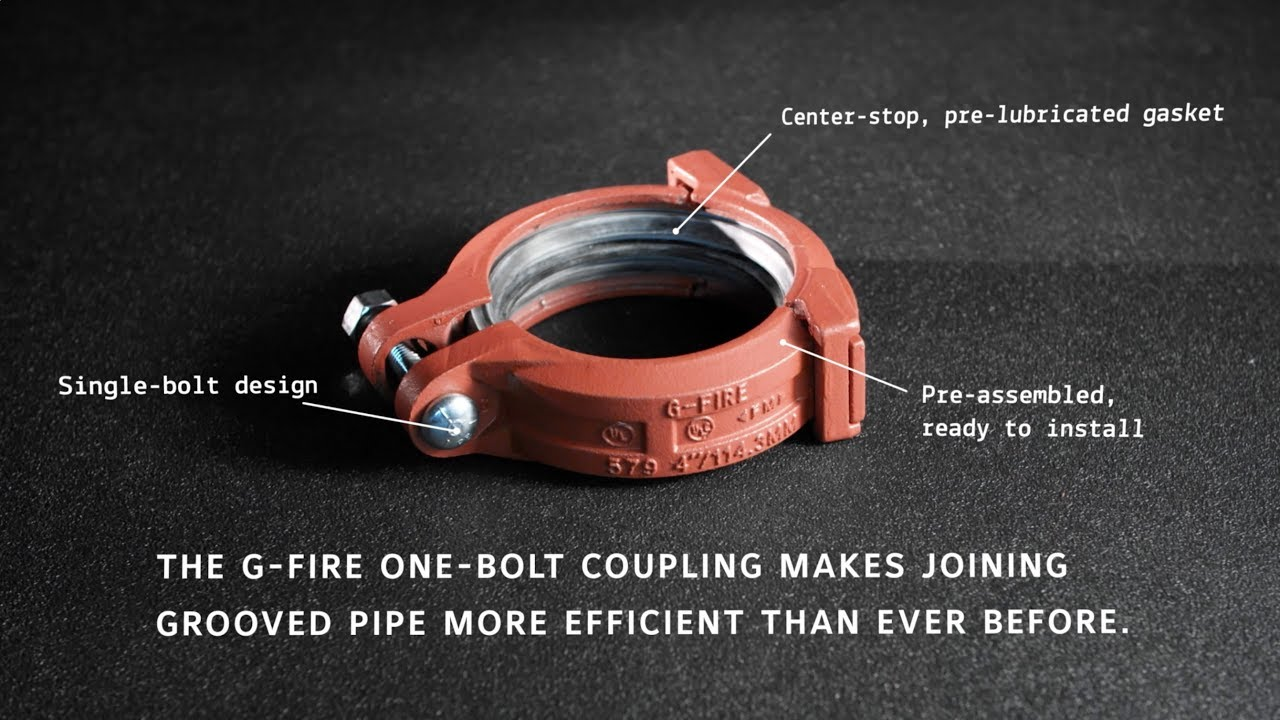 Model 579 One-Bolt Coupling | Tyco Fire Protection Products