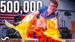 500,000 SUBSCRIBER FRUIT NINJA!!!!! WITH MILLION LAYER KATANA
