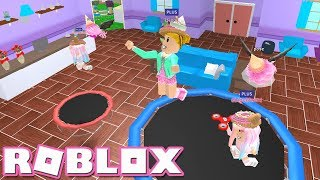Trampolines! Roblox: [🤑BLACK FRIDAY!] MeepCity ~ Playing MeepCity With My Twins!