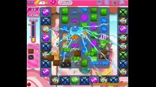 Candy Crush Saga - Level 1611 (3 star, No boosters)