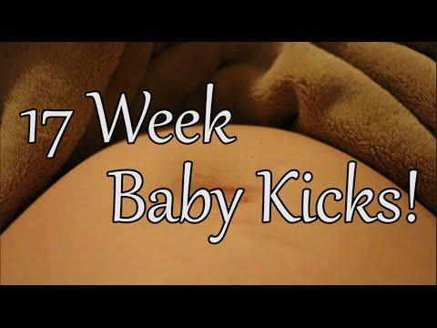 Baby Kicks at 17 Weeks Pregnant!