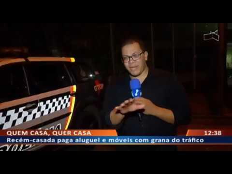 DF ALERTA - Recém-casada paga aluguel e móveis com grana do tráfico