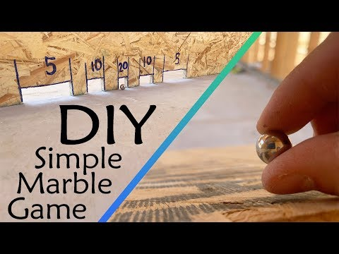 Easy to Build DIY Marble Game