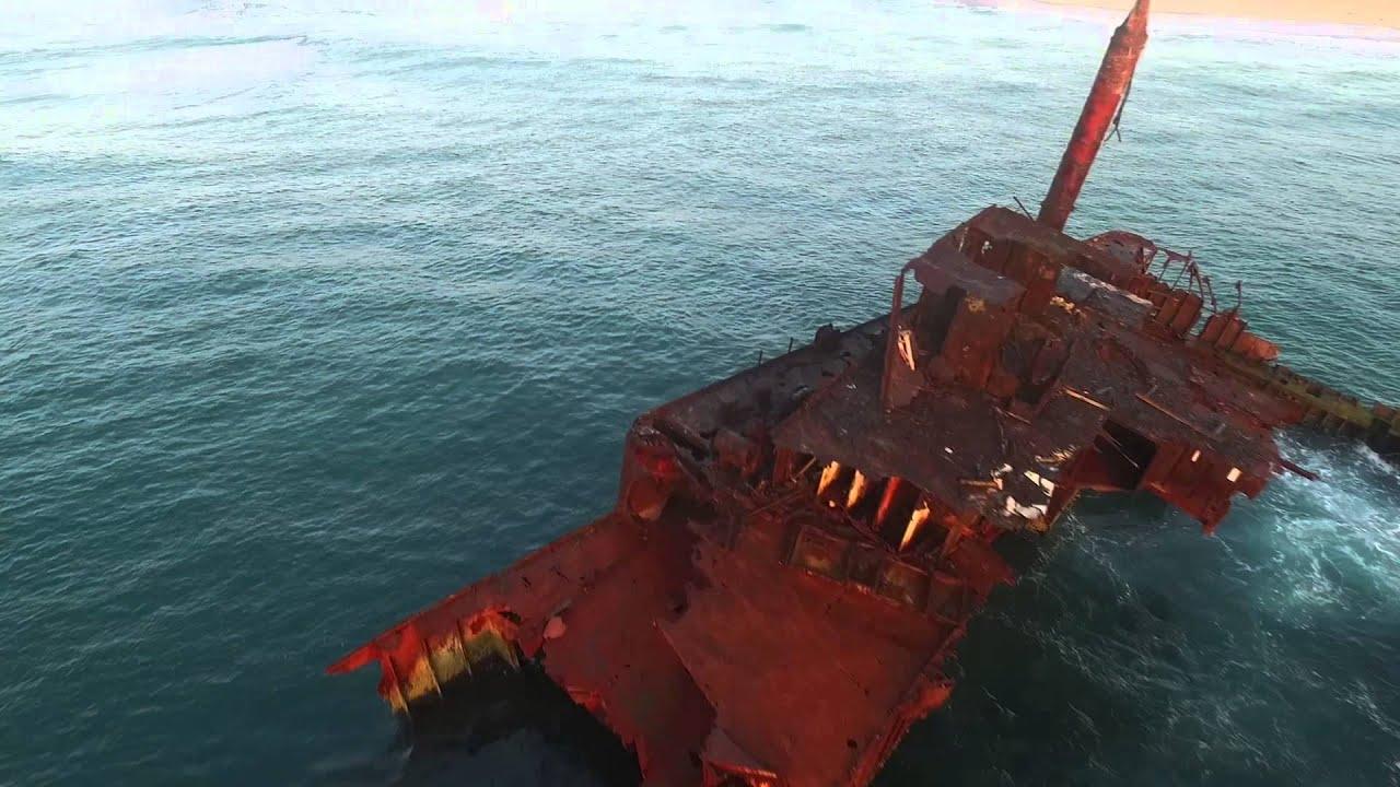 MV Sygna Shipwreck Stockton NSW