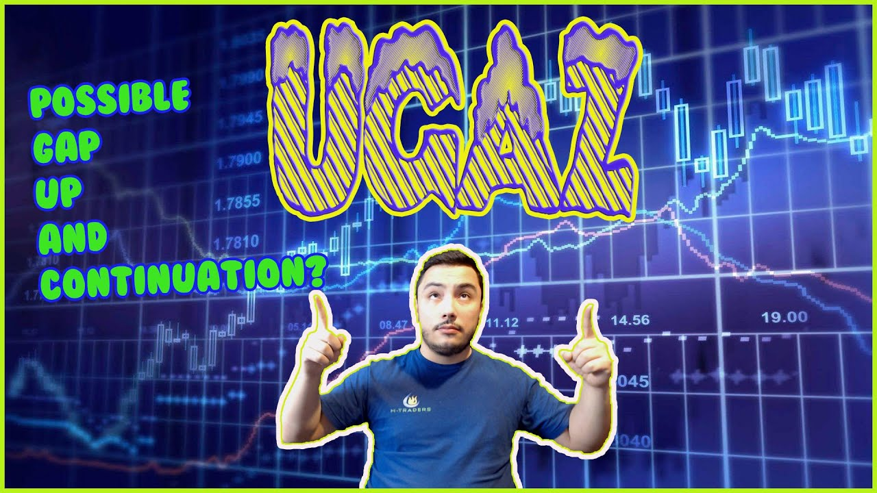 UGAZ possible Gap up and continuation?