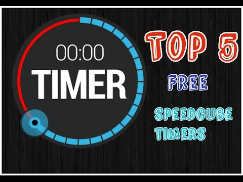 Top 5 free speedcube timers for PC