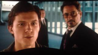 Spiderman homecoming end