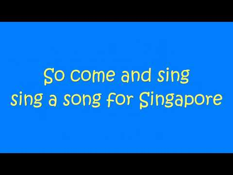 Corrinne May - Song for Singapore (NDP 2010 Theme Song Karaoke)