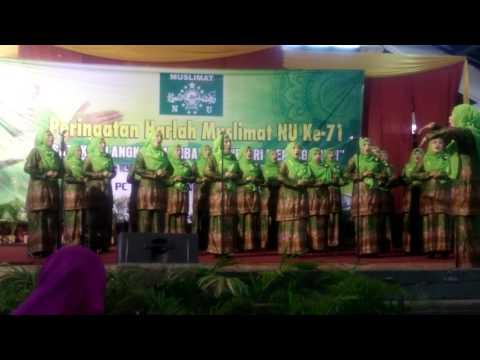 Juara 1 Lomba Mars Dan Hymne Muslimat NU Denpasar Bali