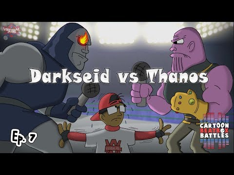 Darkseid Vs Thanos - Cartoon Beatbox Battles - YouTube