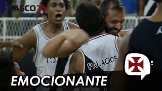 Veja a cesta de Palacios nos segundos finais que deu a vitória para o Vasco sobre Franca no NBB