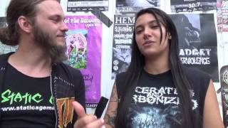 Interview With Fernanda Lira From Nervosa At Obscene Extreme