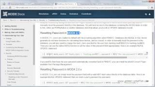Как сбросить пароль в MODX Revolution(http://promo-creative.com/kak-sbrosit-parol-v-modx-revolution.html Если вы забыли пароль для админ-панели MODX Revolution, то где-то подсмотреть..., 2015-02-16T12:48:27.000Z)