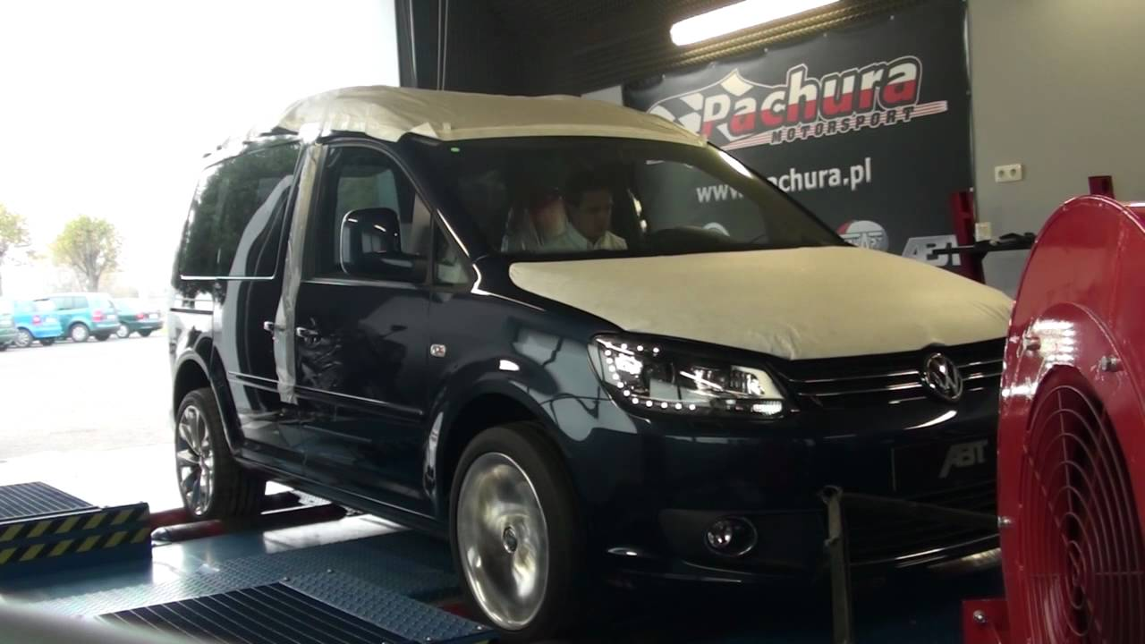 brand new vw caddy 2.0tdi tunedpachura motorsport - youtube