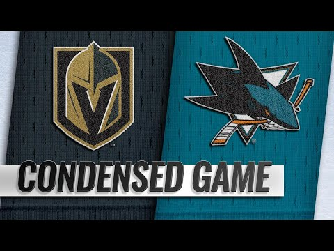 03/18/19 Condensed Game: Golden Knights @ Sharks