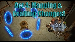 Path of Exile Act 4: State of the Beta & Map System Changes!