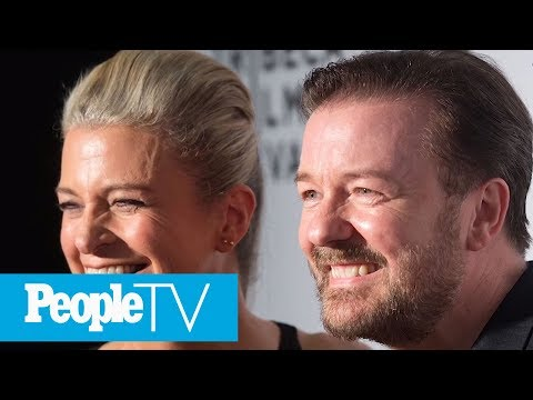 Ricky Gervais Opens Up About 35Year Love With College Sweetheart  PeopleTV