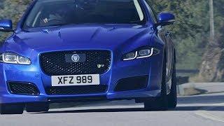 Jaguar XJR 575 2018 Edgy Luxury Sedan смотреть
