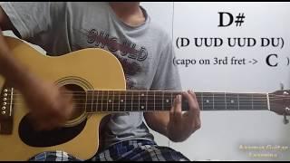 Teri Mitti (Kesari) - Guitar Chords Lesson+Cover, Strumming Pattern, Progressions