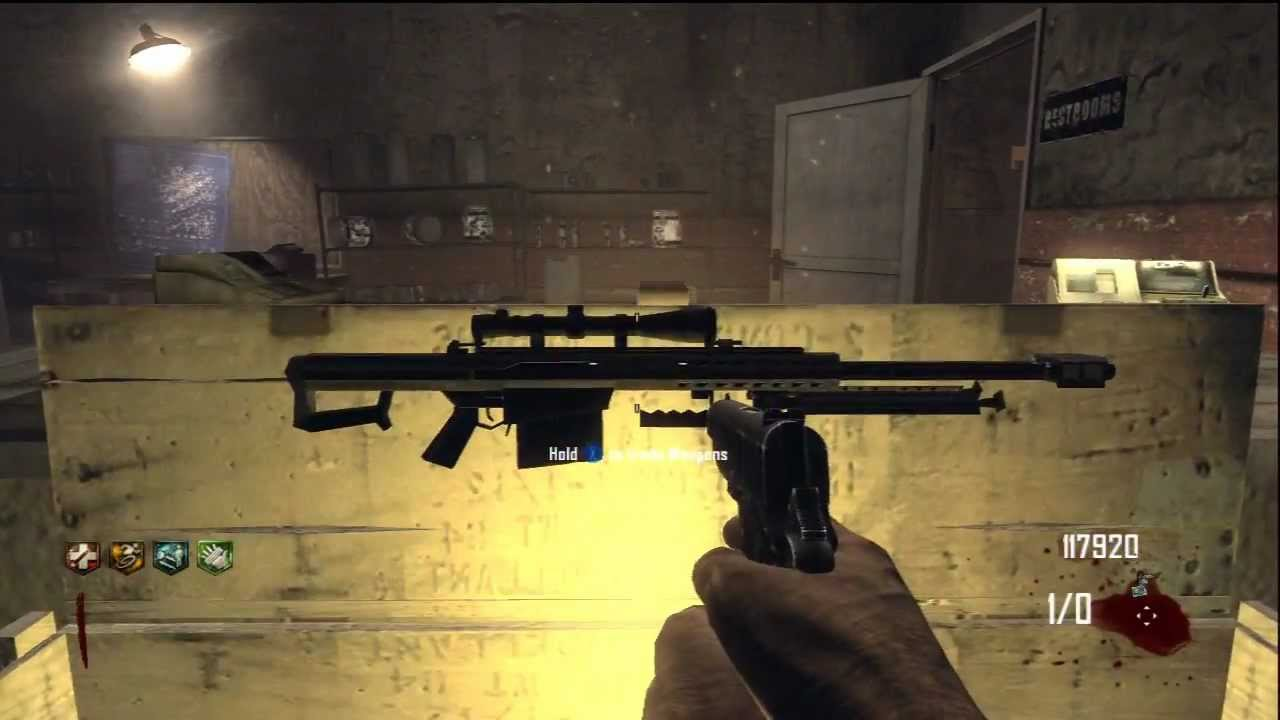 Black ops 2 zombies barrett m82a1 pack a punched for Why is it called a punch list