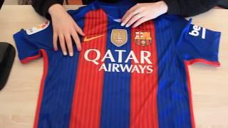 ОБЗОР ФУТБОЛЬНАЯ ДОМАШНЯЯ ФУТБОЛКА БАРСЕЛОНЫ 16/17 (FC Barcelona)