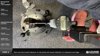 How to setup the Revolution Drill® at the spindle