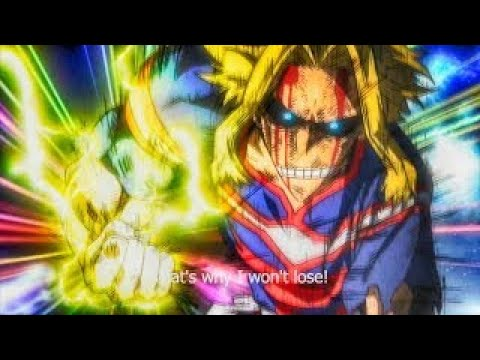 UNITED STATES OF SMASH (60FPS) All Might Vs All For One[FULL FIGHT] Boku No Hero Academia
