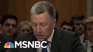 How Important To The Impeachment Inquiry Is Kurt Volker? | Velshi & Ruhle | MSNBC