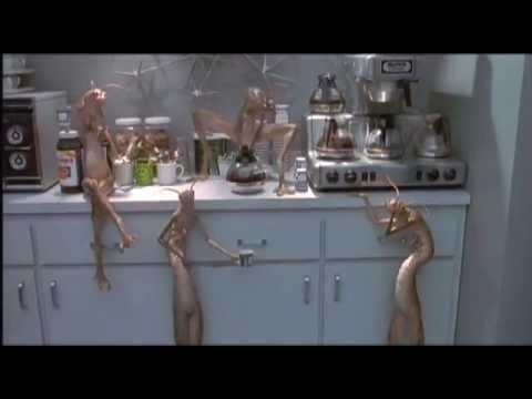 Men In Black Aliens Drinking Coffee Men Black Worm Guys: T...