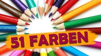 51 Farben auf Englisch
