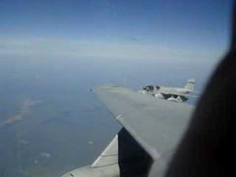 Flying in an E/A-6B
