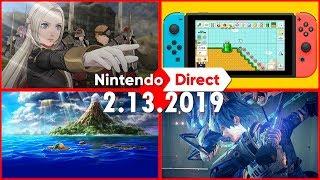 Nintendo Direct 2.13.2019 FULL LIVE REACTION!!