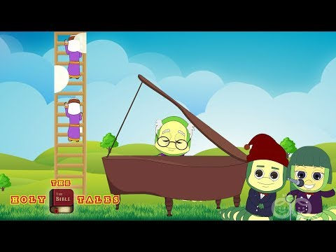 Jacob's Ladder I Popular Bible Rhymes For Kids and Children with Lyrics | Holy Tales Bible Songs