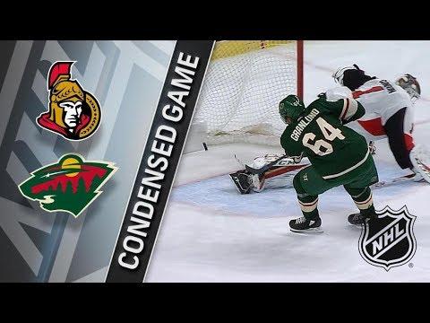 Ottawa Senators vs Minnesota Wild January 22, 2018 HIGHLIGHTS HD