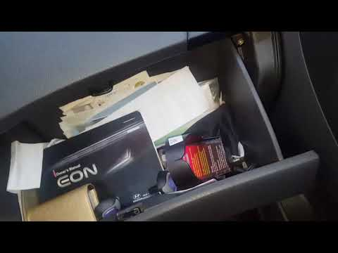 Adding 3M Filtrete Filter to Hyundai EON's Cabin Air Filter