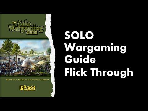 SOLO WARGAMING Guide - Flick Through