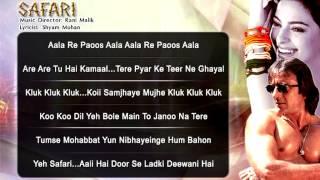 Safari - All Songs - Sanjay Dutt - Juhi Chawla - Amit Kumar - Udit Narayan - Sadhana Sargam