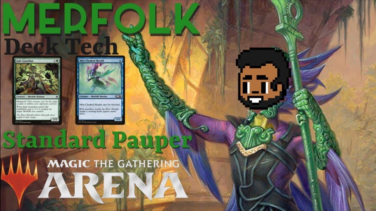 Mtg arena pauper deck