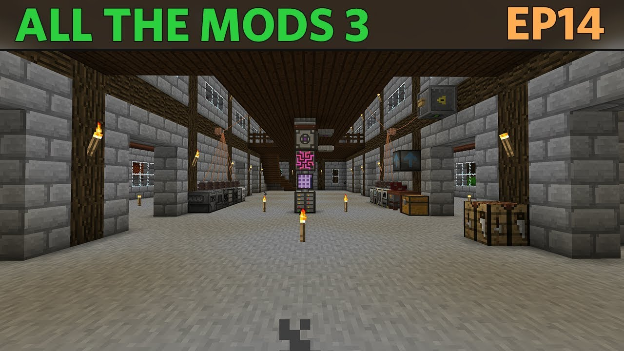 All the Mods 3 - E14 - Cobbleworks! [1 12 Modded Minecraft]