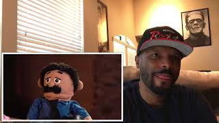 Floyd Mayweather Awkward Puppets Interview Reaction