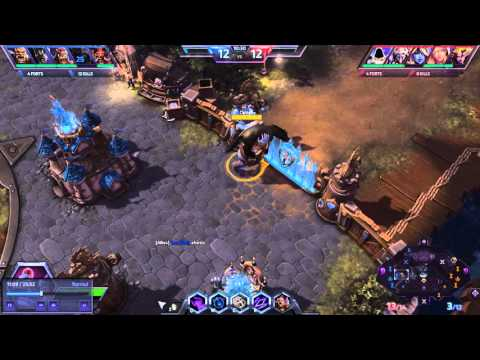 Heroes of the Storm - Cho'Gall wrecking on Blackheart's Bay (Gall perspective) - 1080p/60FPS