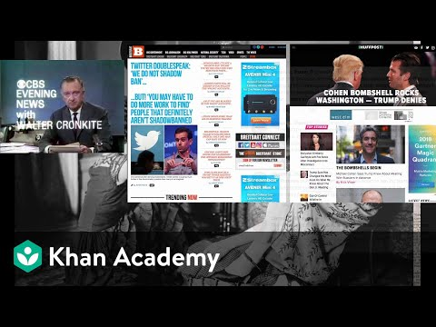 Impact Of Media Evolution On Politics | US Government And Civics | Khan Academy