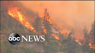 Wildfire Grows Into the Largest in Washington State