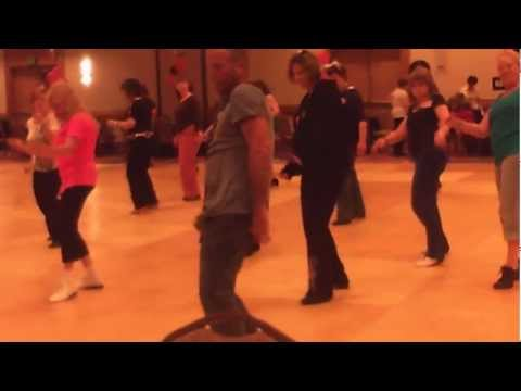 Superstar line dance choreographed by Guyton Mundy