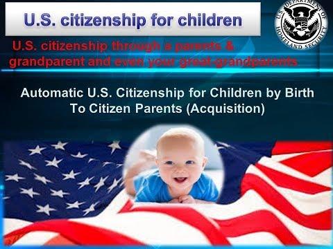 U.S. Citizenship Through A Parents & Grandparent And Even Your Great-grandparents