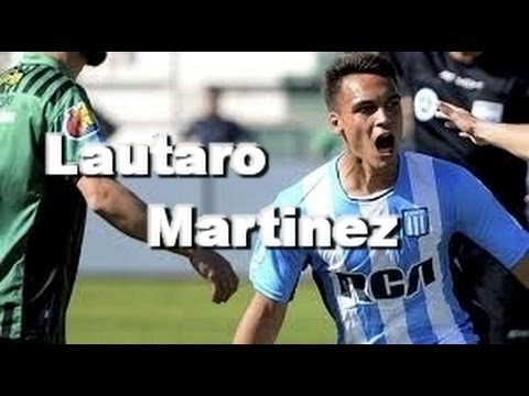 "Lautaro Martinez ""la promesa""    lujos, jugadas, goles    Racing Club"