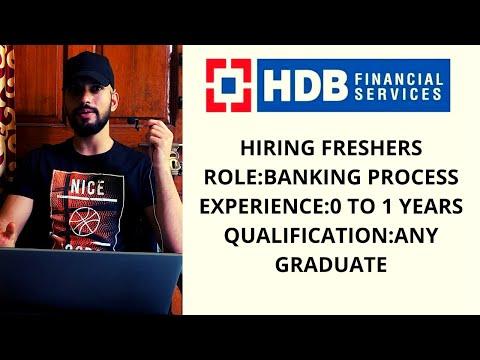 HDB Financial Services Recruitment   Walkin Interview At HDB Financial Services   Karrar Hussain